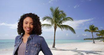 Frauen in Punta Cana treffen