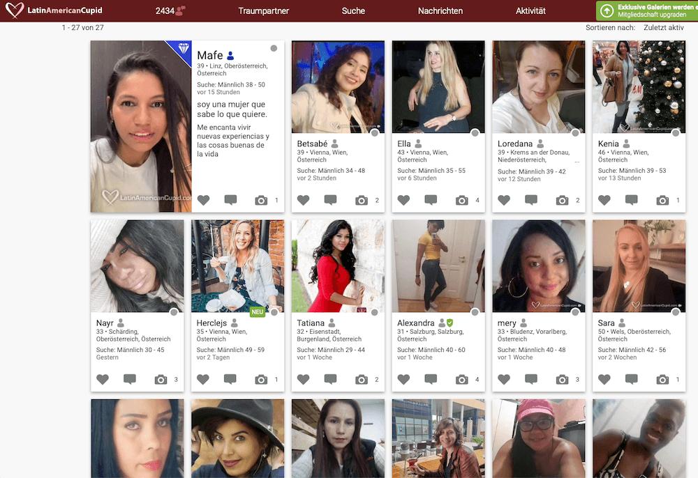 LatinamericanCupid Singles in Österreich